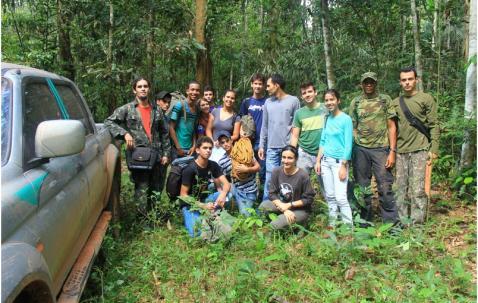 Pesquisas e multidisciplinaridade sobre a harpia em Cacoal-RO