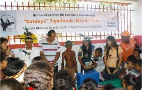 Harpia Baiana em 1º aniversário com satélites brasileiros