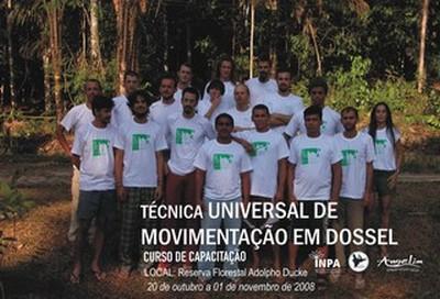 Curso Técnica Universal de Movimentação em Dossel. Manaus-AM, 2006.
