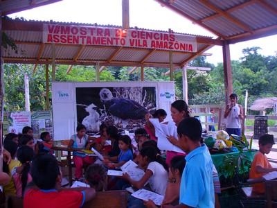 VII Mostra Ciências do Assentamento Vila Amazônia, Parintins-AM. 2010.